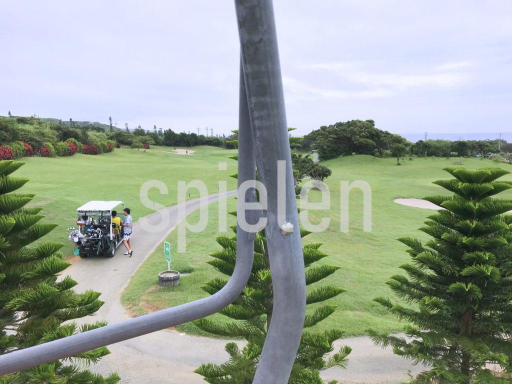 シギラリゾートのゴルフ場