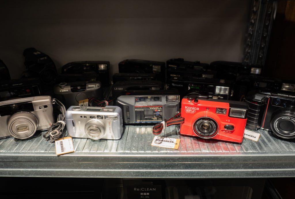 【2ndBASE店内】フィルムカメラ