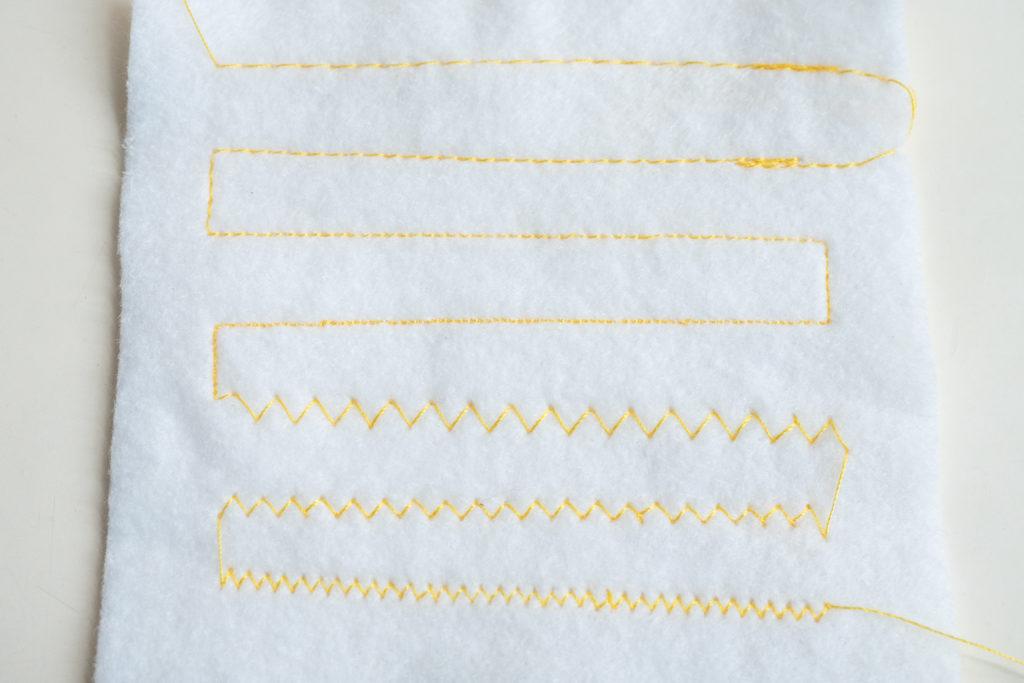 縫いパターン(表)