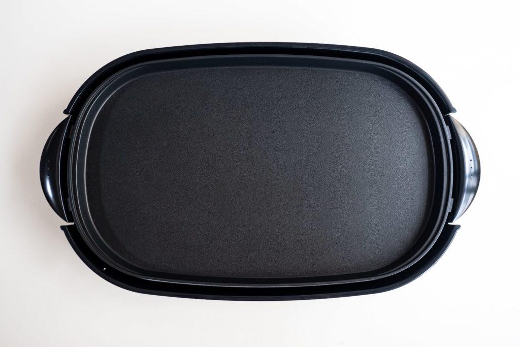 パナソニック ホットプレートNF-W300-S平面画像