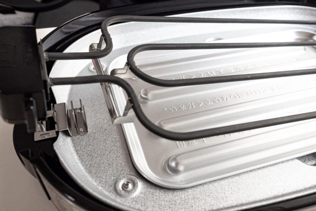 パナソニック ホットプレートNF-W300-Sヒーター脱着可能