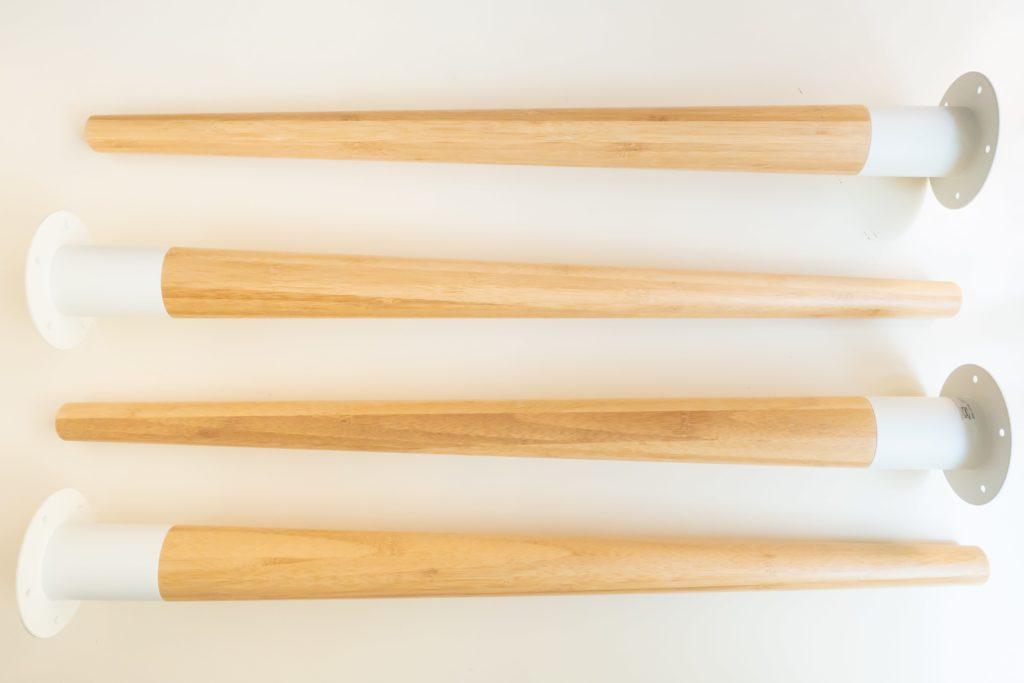 IKEAの脚(HILVER ヒルヴェル)