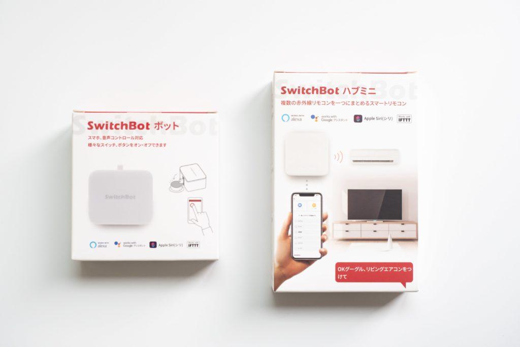 switchbotのhub miniとボット