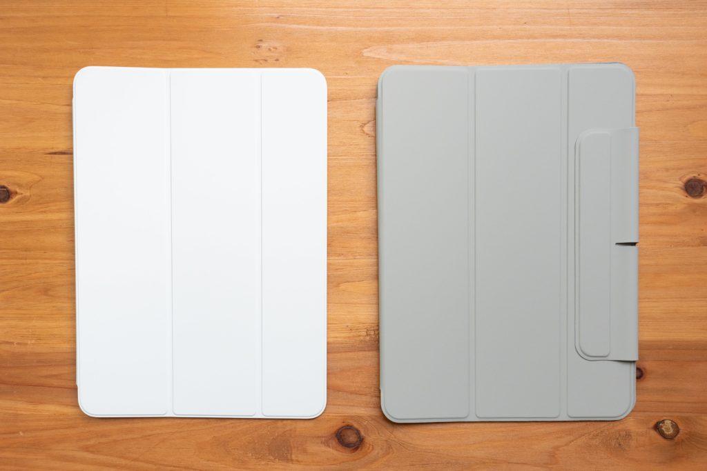 ESR iPad Air 4 ケースとSmart Folio(表面)