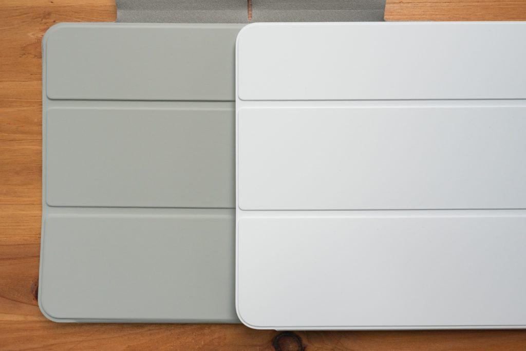 ESR iPad Air 4 ケースとSmart Folioの折れ目