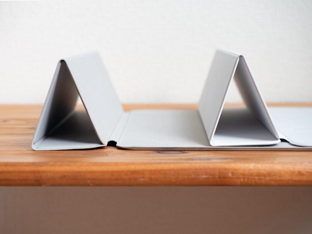 ESR iPad Air 4 ケースとSmart Folioの三つ折り30°