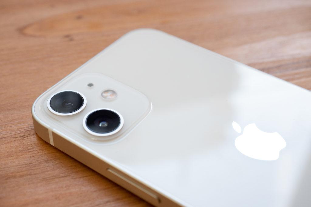 iPhone12miniのカメラ