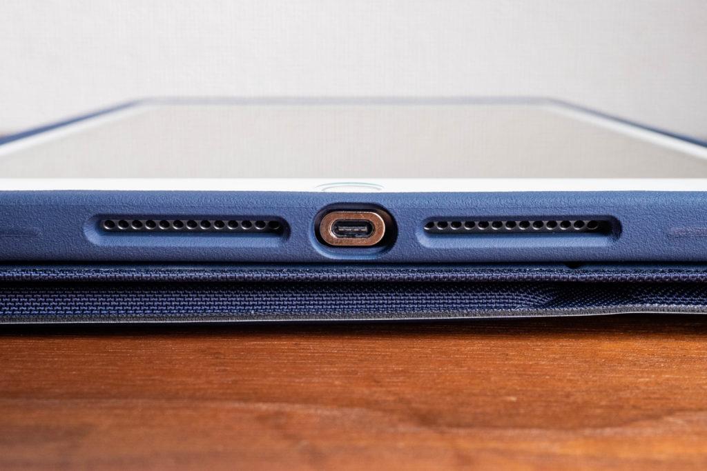 iPad8のLightningアダプタにマグネット式コネクタを挿す