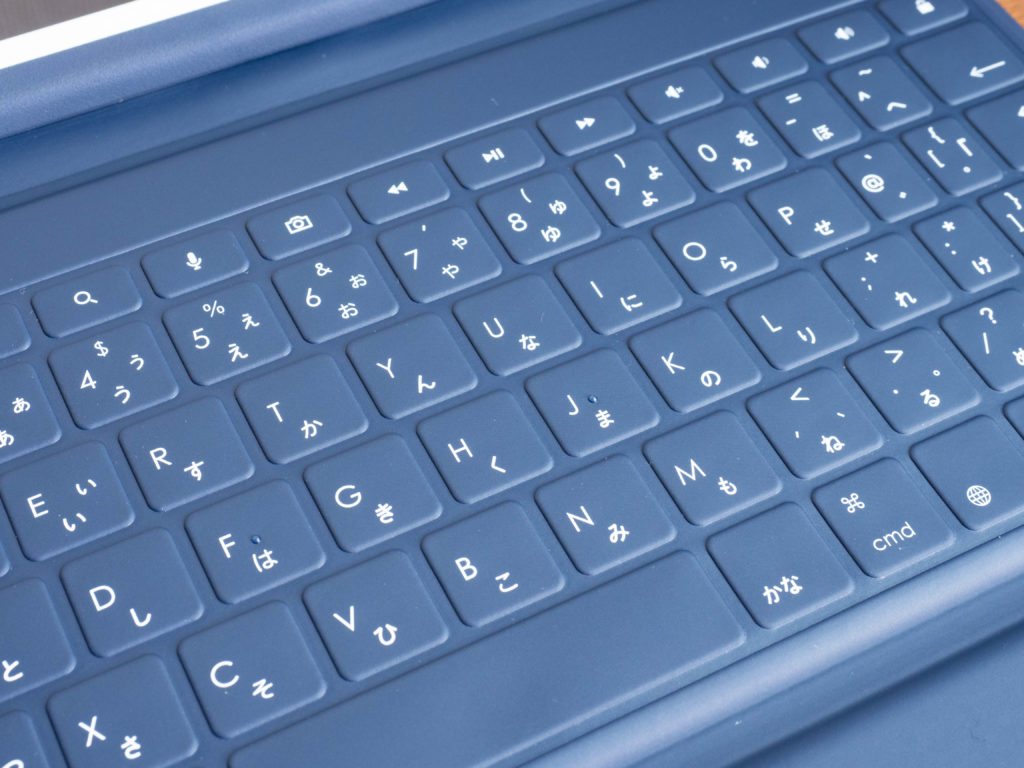 LogicoolのRUGGED FOLIOのキーボード