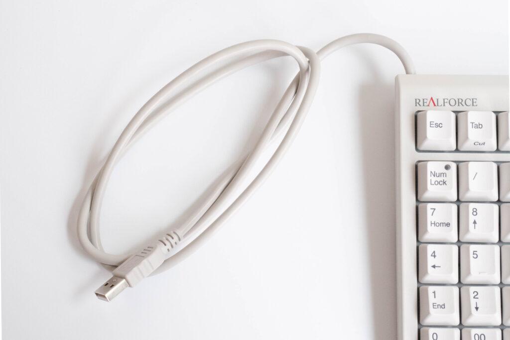 東プレ リアルフォース23U USBコード