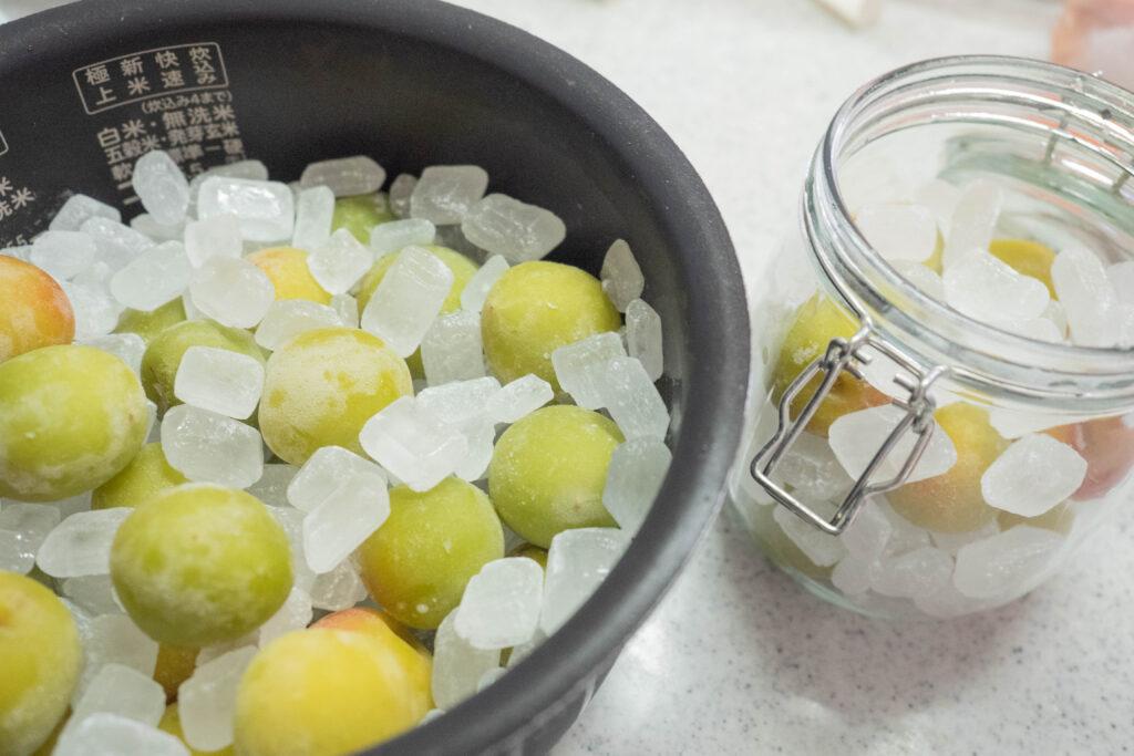 手作り梅ジャム 炊飯器と通常の作り方