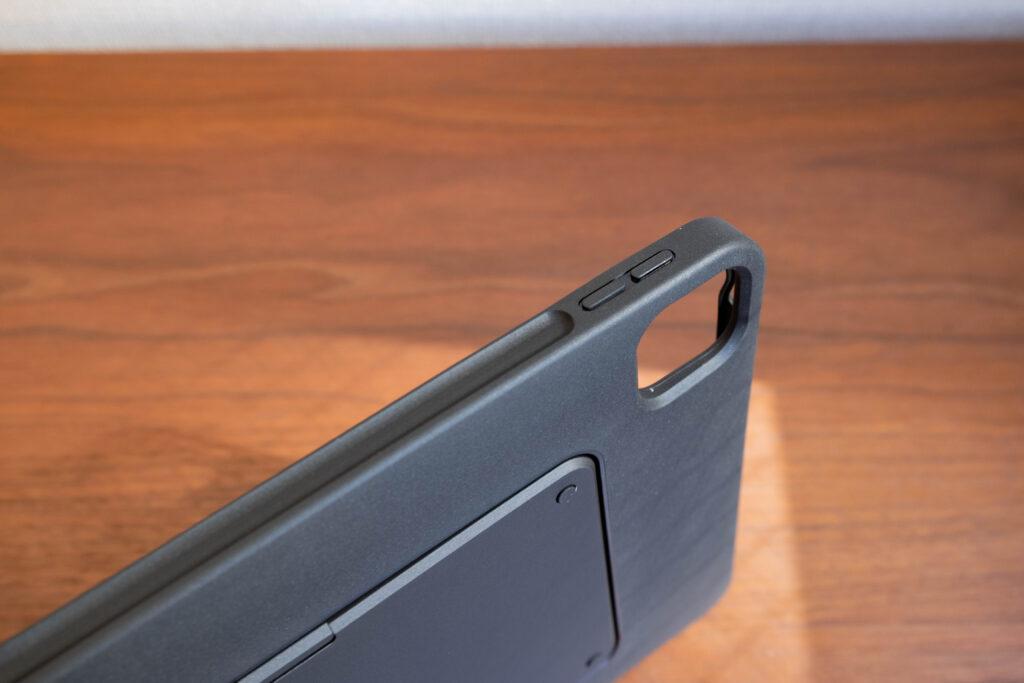 moft-floatはiPadをガッチリ固定してくれる