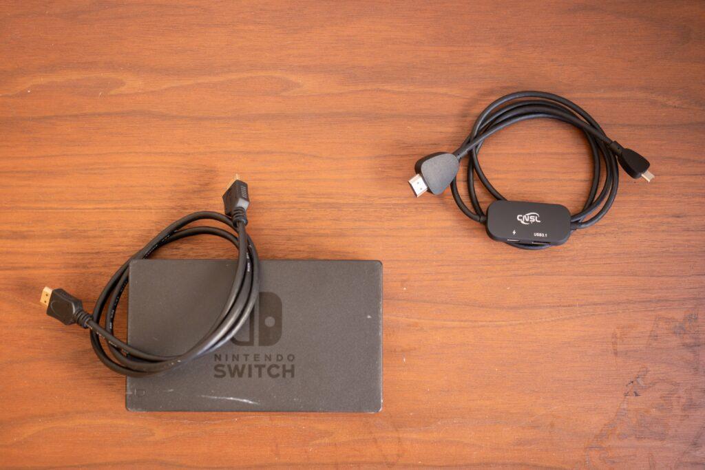 Nintendo Switchの純正ドックとミニドック