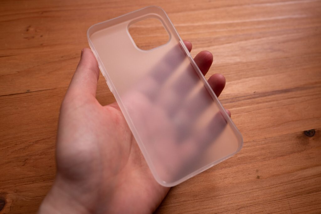 iPhone13miniのケース「0.35」
